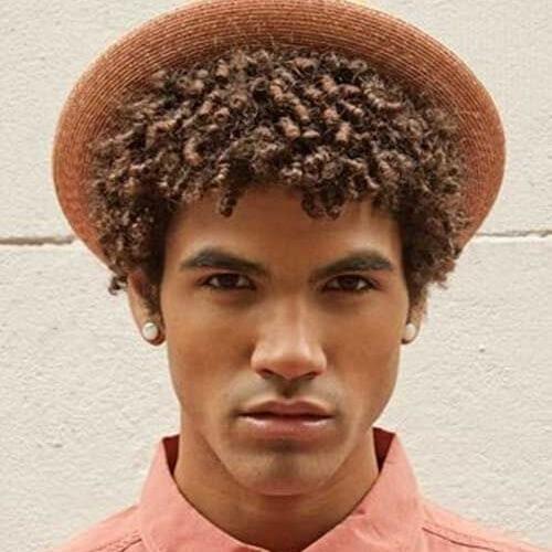 Peinados frescos para hombres negros
