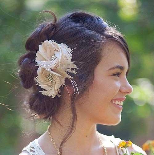 Los mejores accesorios para el cabello de flores para bodas