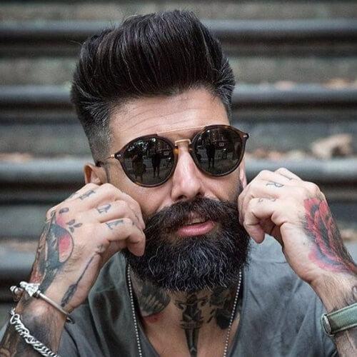 Barba y Pompadour