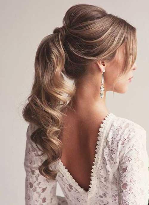 20 Peinados De Fiesta Para El Pelo Rizado Largo Peinados