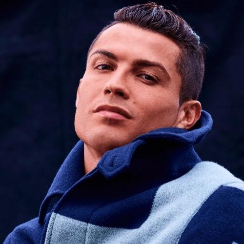 Barrido hacia arriba Cristiano Ronaldo Peinados