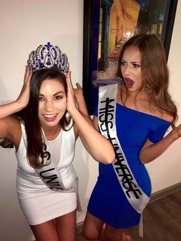Ese escándalo de Miss Universo.
