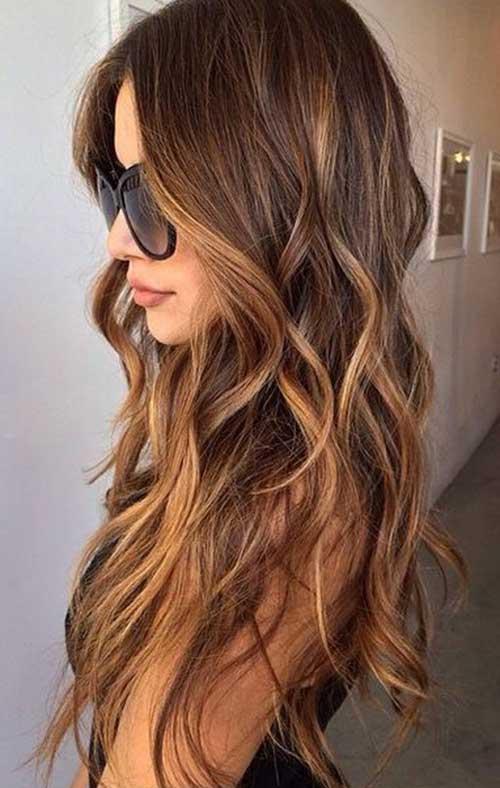 Cortezas de pelo largo ondulado-21