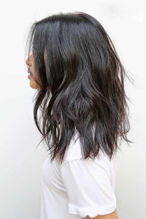 Cortezas de pelo largo ondulado-23