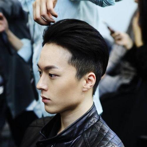 Estilo de cabello limpio y cuidadosamente cuidado