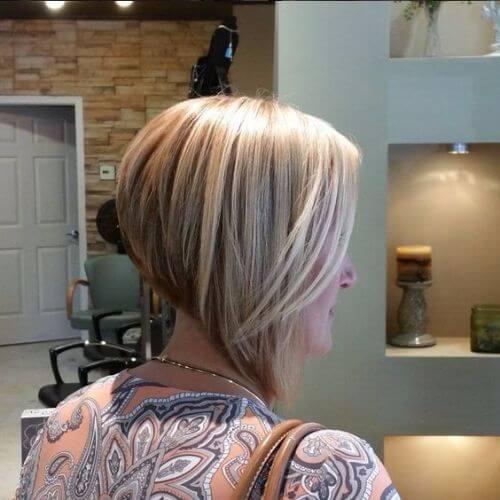 corte de pelo invertido