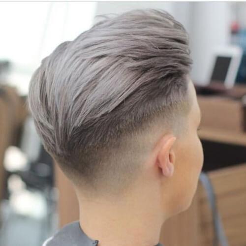 Cortes de pelo cortos para hombres con cabello teñido