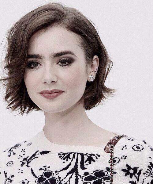 cortes de pelo de lirio collins para caras redondas