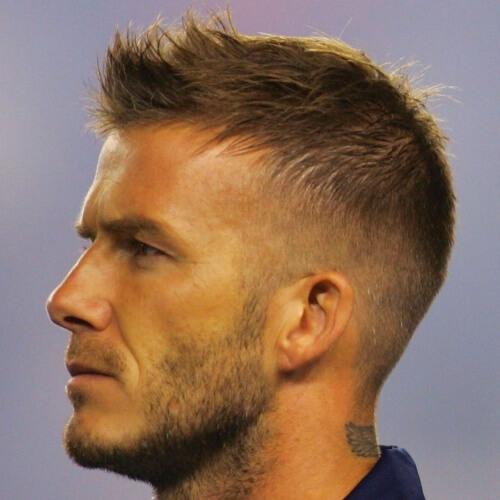 Faux mohawks peinados para hombres