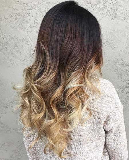 Negro a rubio Ombre pelo rojo negro pelo, Balayage, Ombre, Balayage pelo