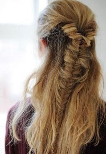 Trenzas para imágenes de cabello largo_4