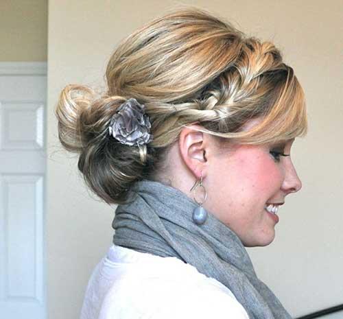 Mejores peinados Updo medianos