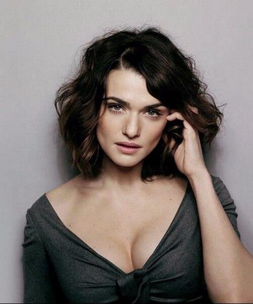 rachel weisz peinados para mujeres mayores de 40 años