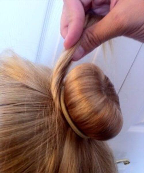 ballet bollo niña pequeños peinados
