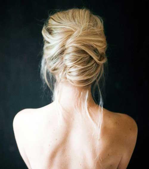 French Bun Hair-18