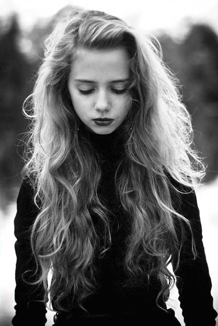 Updos para cabello largo