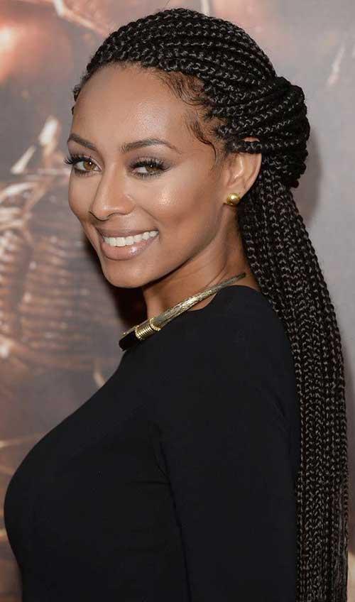 Keri Hilson trenzas peinados para mujeres negras