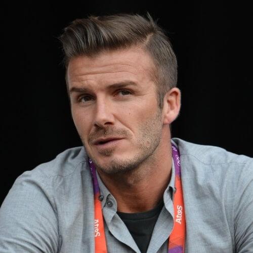 Quiff David Beckham Peinados