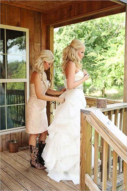 Chic look vintage hairstyle para la boda