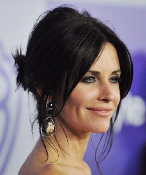 cortes de pelo courtney cox para mujeres mayores de 40 años