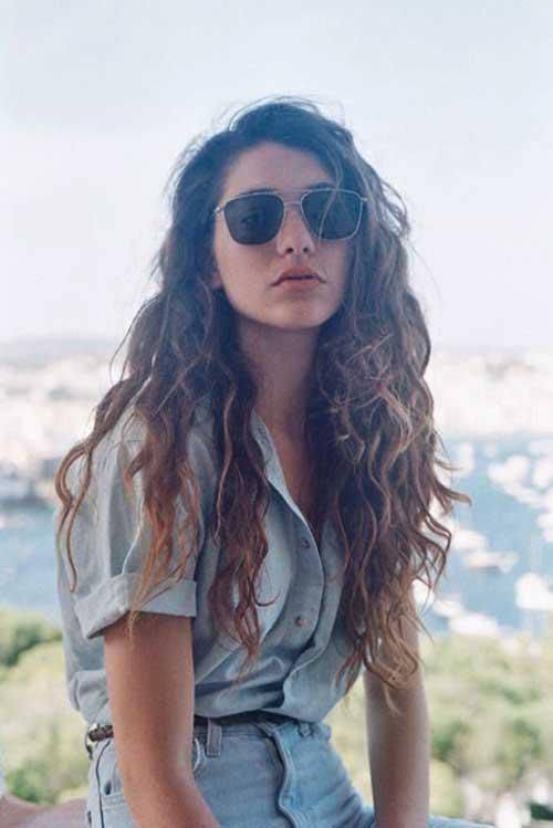 Niñas con cabello largo y rizado-18