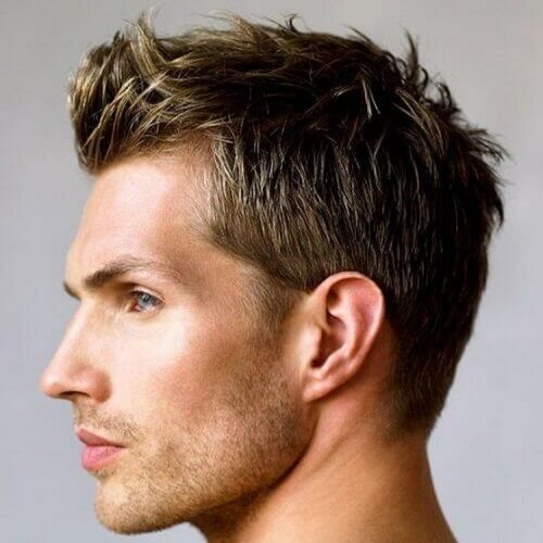 Cortos peinados populares para hombres