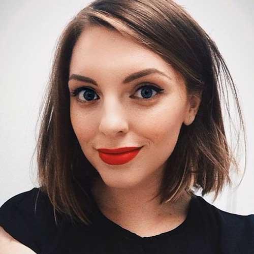 Nuevo lindo hermoso pelo corto para mujeres