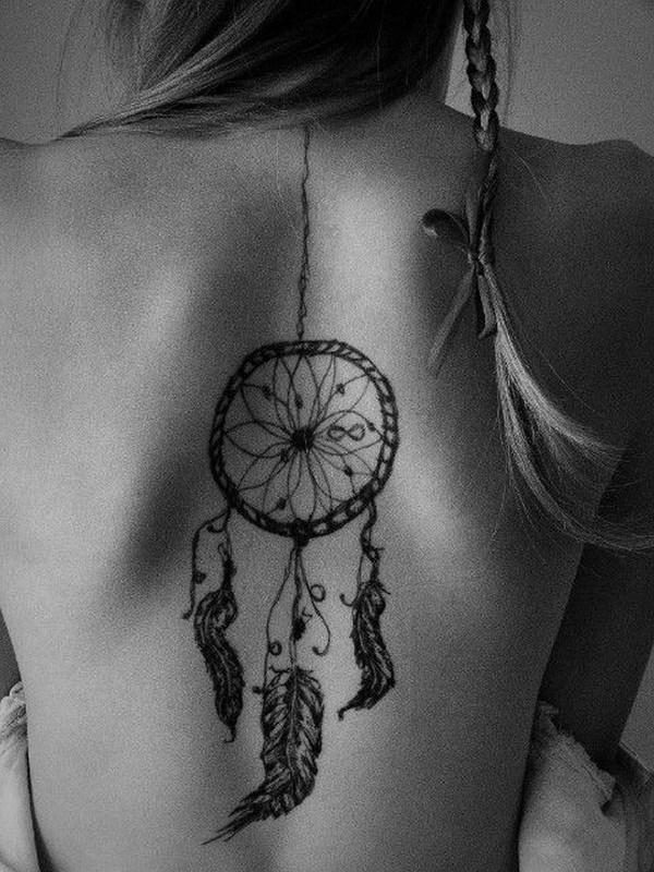 Volver diseño de tatuaje soñador.