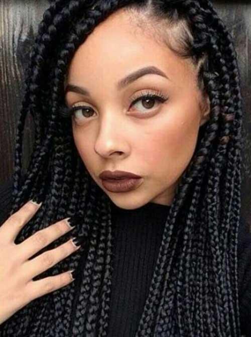 Mejores trenzas Peinados para mujeres negras