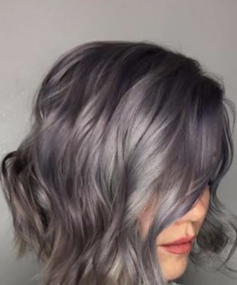 pavimento mojado caída cabello colores
