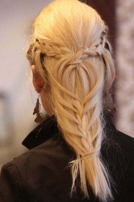 Trenzas para cabello largo