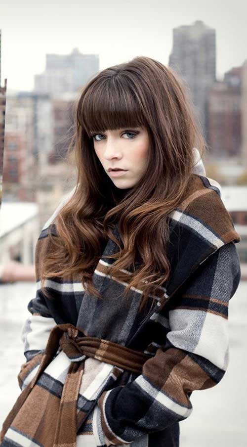 Flequillo en cabello largo-15