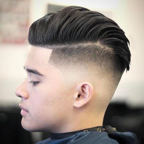 Peinados rotos adolescente