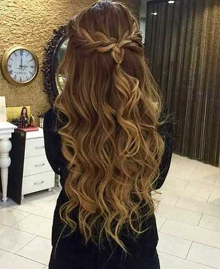 Big, Loose, Curls, Your, Prom, Ombre, Balayage, Long, Ombré