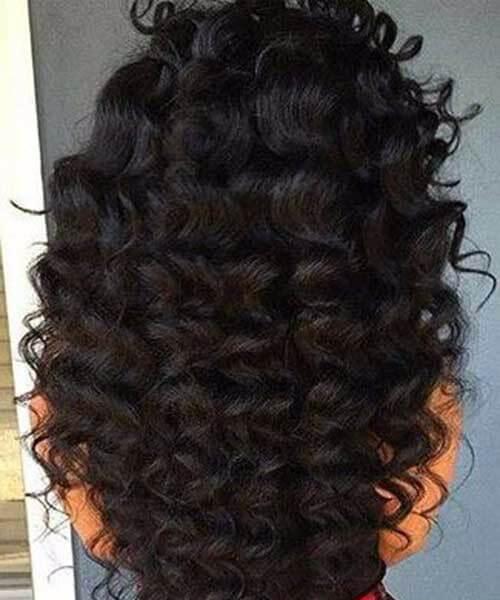 rizos jumbo tejer peinados