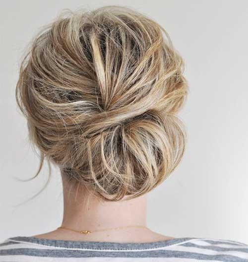 French Bun Hair-7