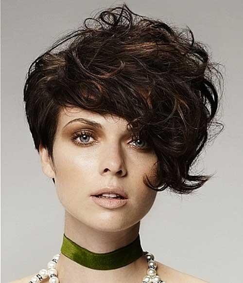 Peinados punk para cabello rizado-19