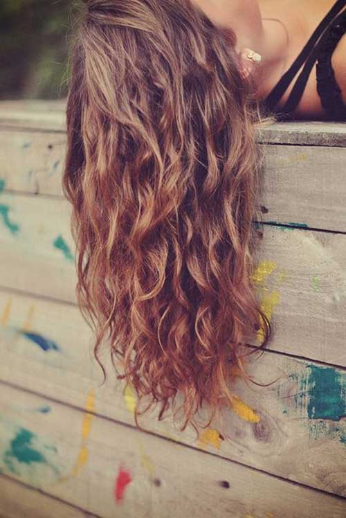 Perfect Curly Beachy Waves