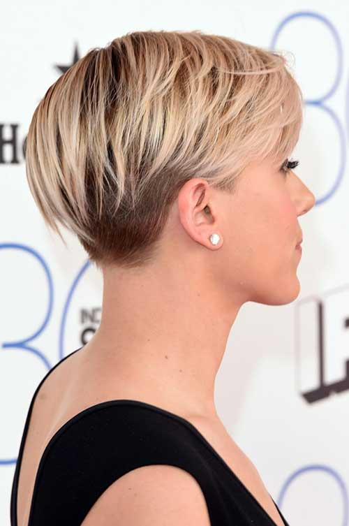 Scarlett Johansson Short Pixie Haircuts