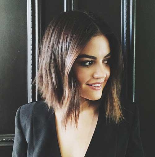 Bonito color de pelo morena 2015