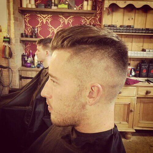 peinados de pomp undercut para hombres