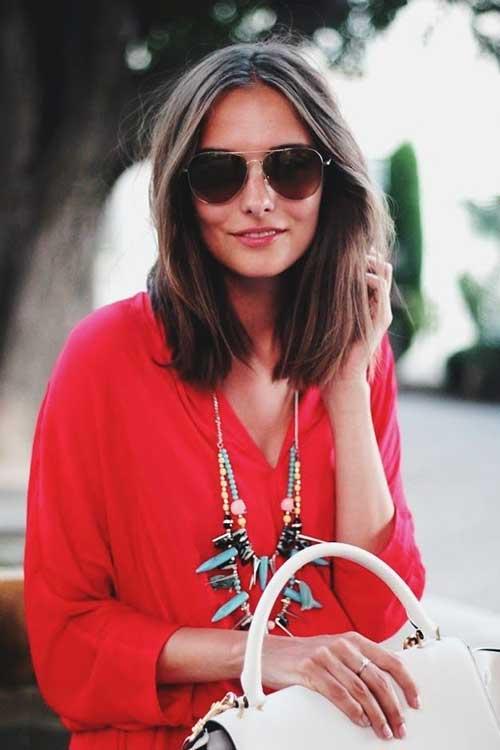 Mejores peinados de moda con longitud media