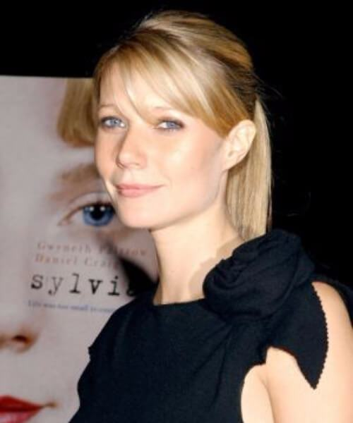 gwyneth paltrow peinados con flequillo