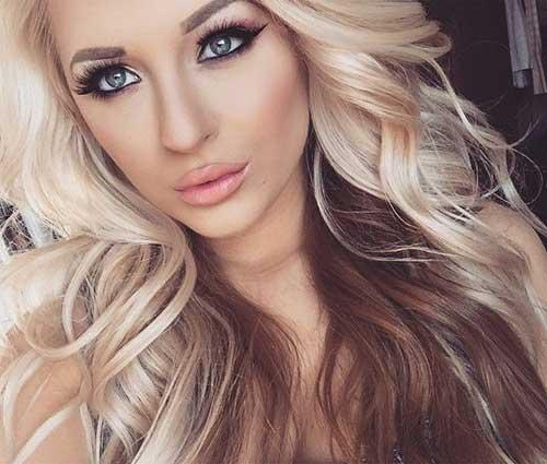 Blonde Brown Loose ondulado pelo Ideas
