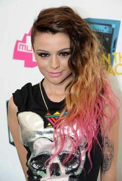 Peinados largos punk-17