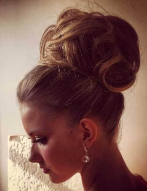 desordenado y formal updos para cabello largo