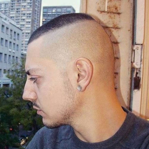 Faux Hawk Haircut militar