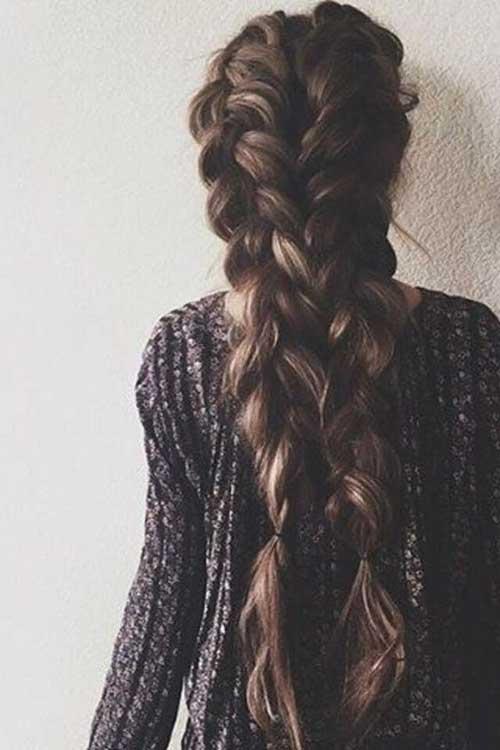 Estilos de cabello trenzado