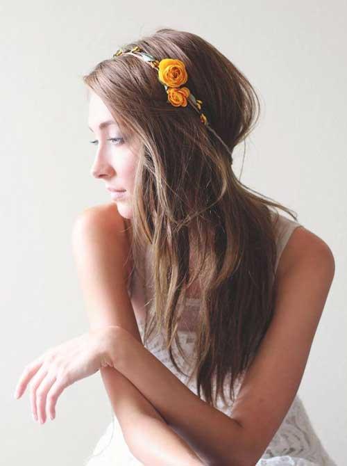 Linda corona de flores de otoño para bodas