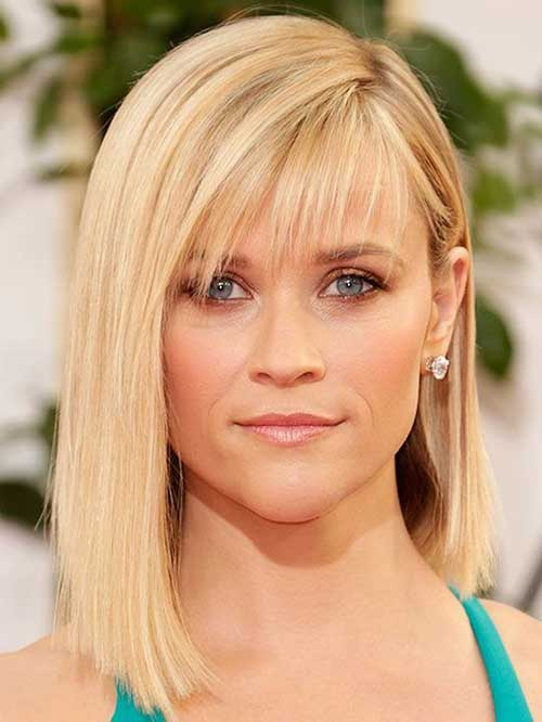 Pelo medio de Reese Witherspoon